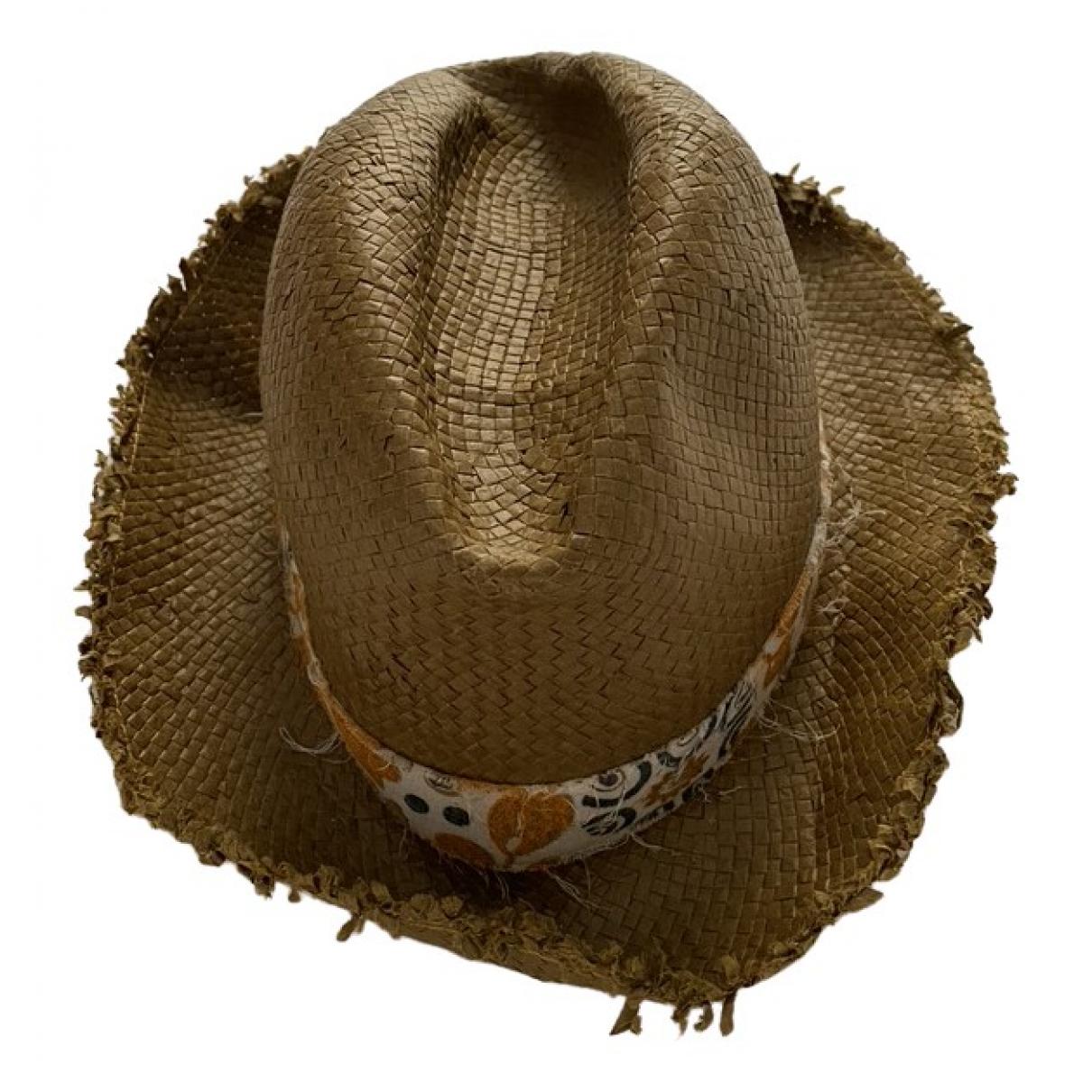 Bonpoint - Chapeaux.Bonnets.Gants   pour enfant en paille - marron
