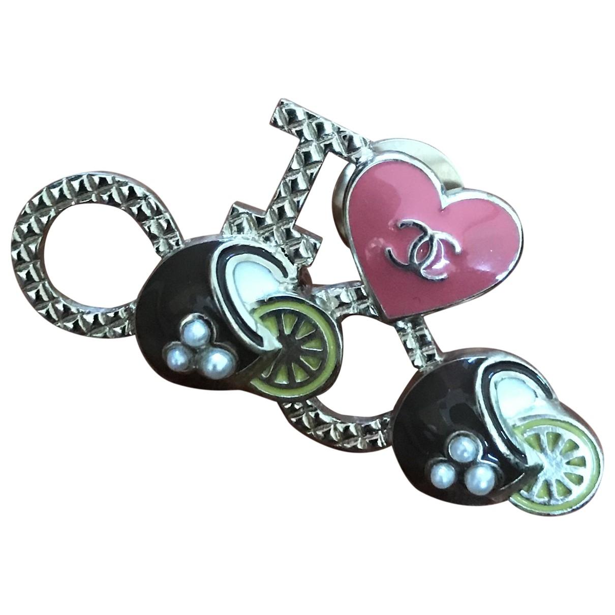 Broche Coco Crush en Metal Rosa Chanel