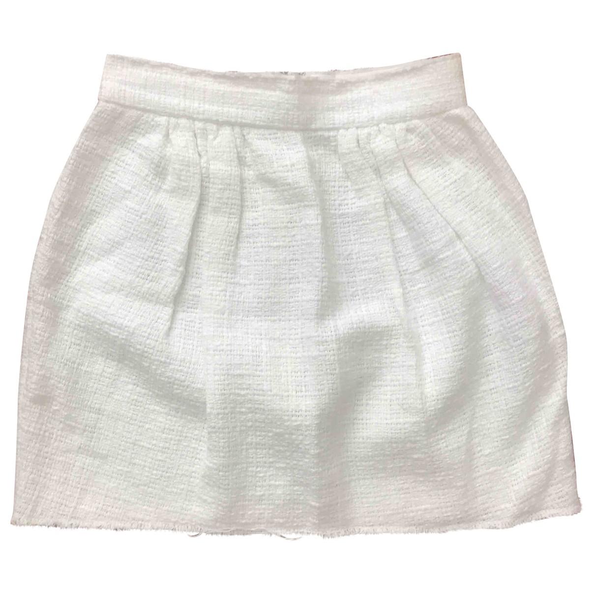 Dolce & Gabbana \N White Cotton skirt for Women 36 IT