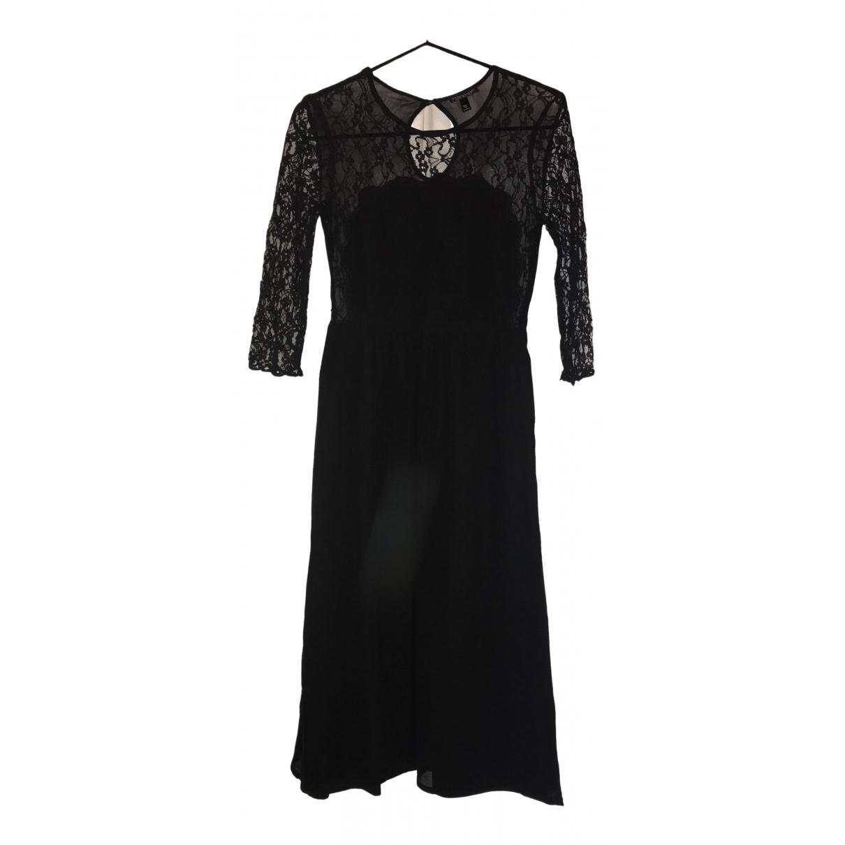 Tophop Boutique \N Kleid in  Schwarz Synthetik