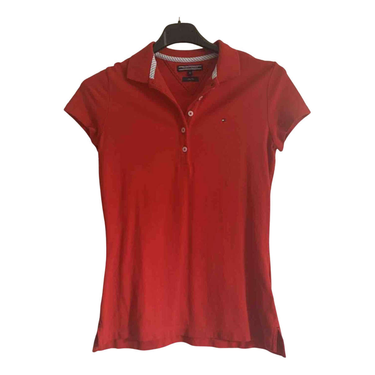 Tommy Hilfiger N Red Cotton  top for Women 32 FR