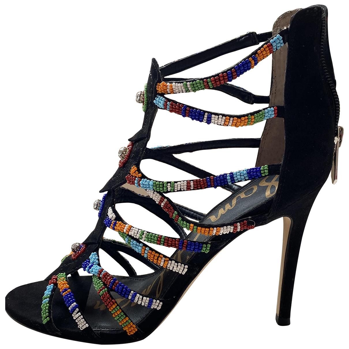 Sam Edelman N Multicolour Leather Heels for Women 36 EU