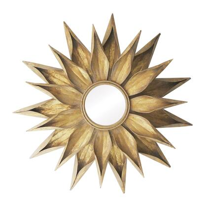 55-216 Brackenhead Mirror Frame-Js  In Bright Gold  Bronze