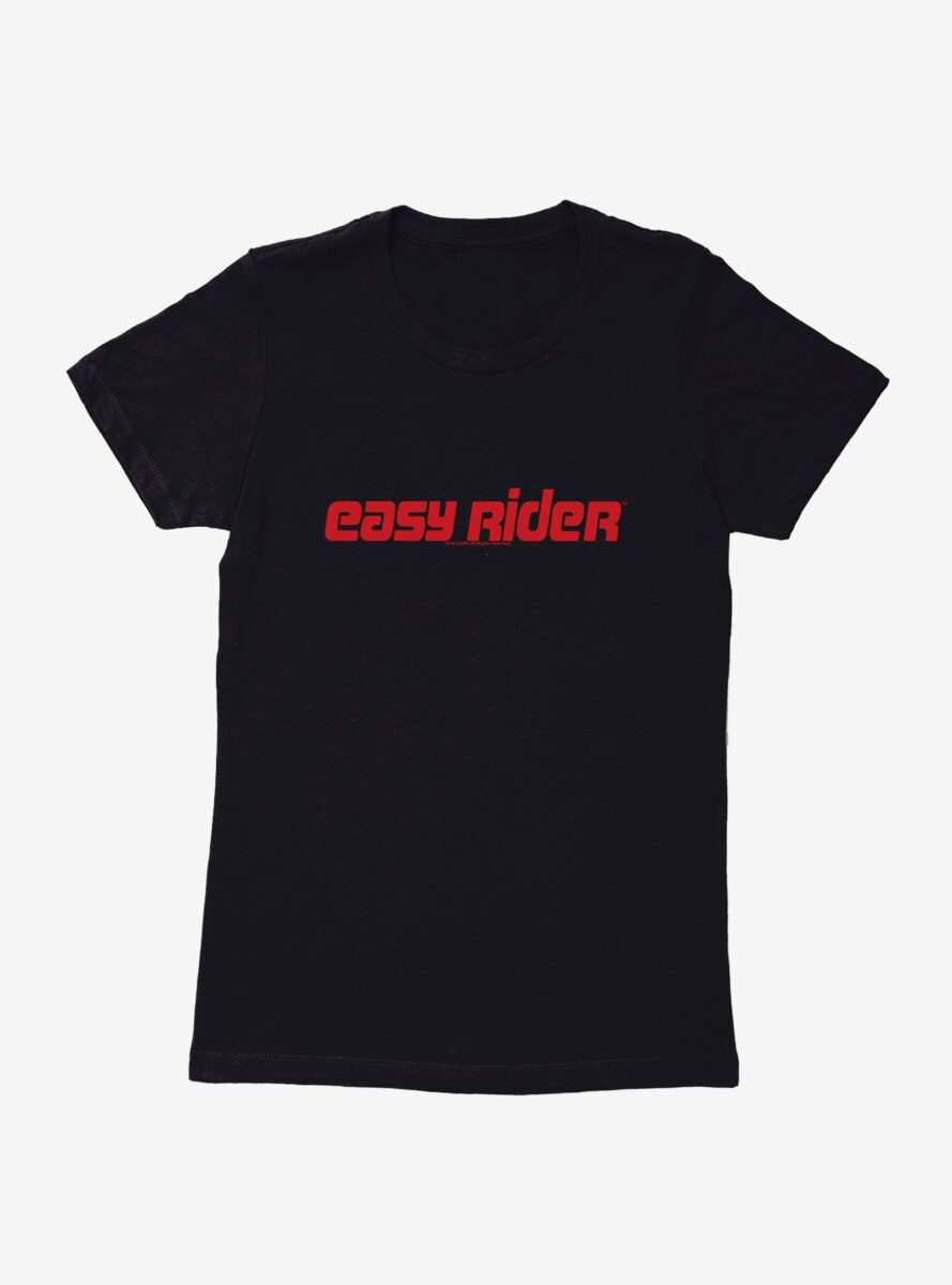 Easy Rider Name Logo Womens T-Shirt