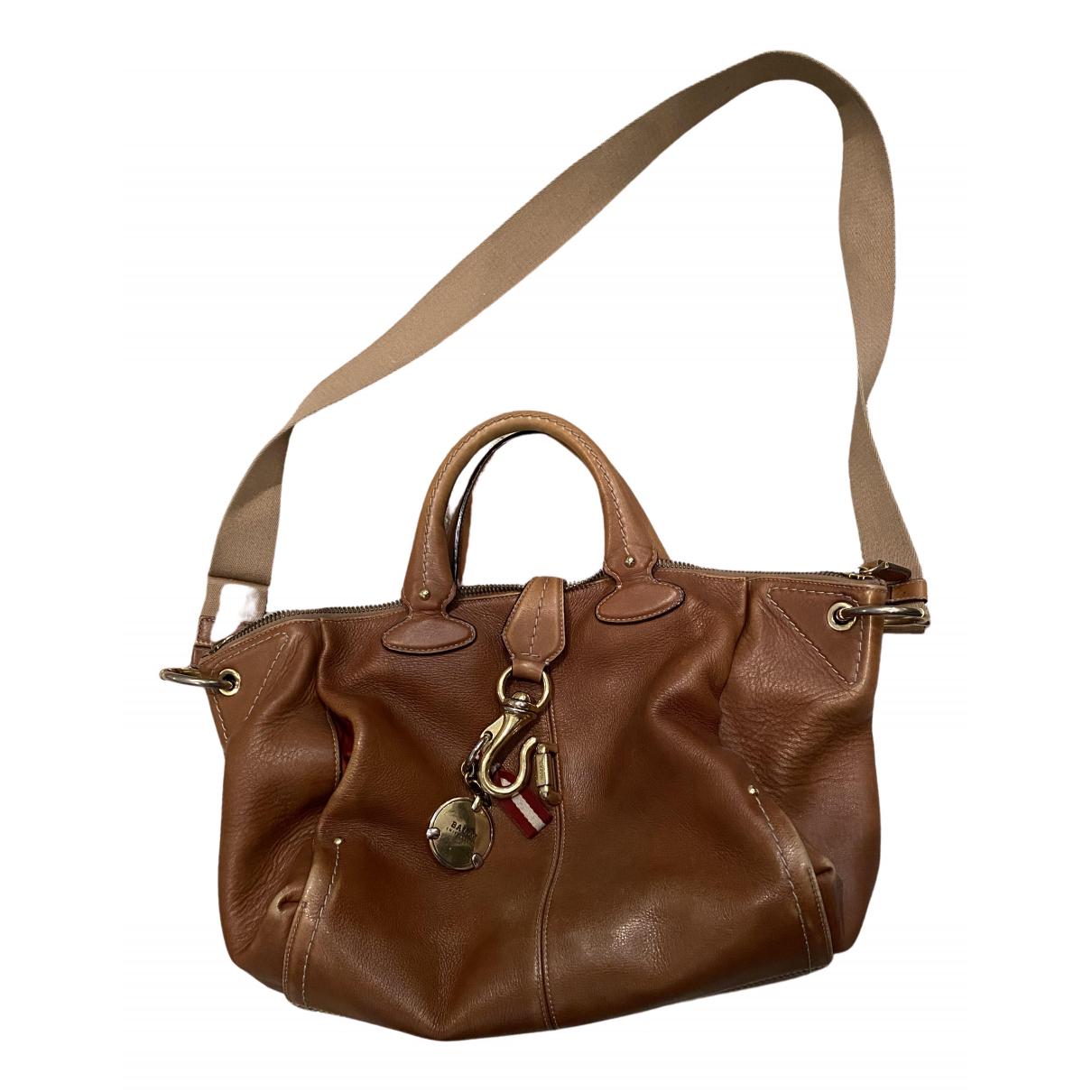 Bally \N Beige Leather handbag for Women \N