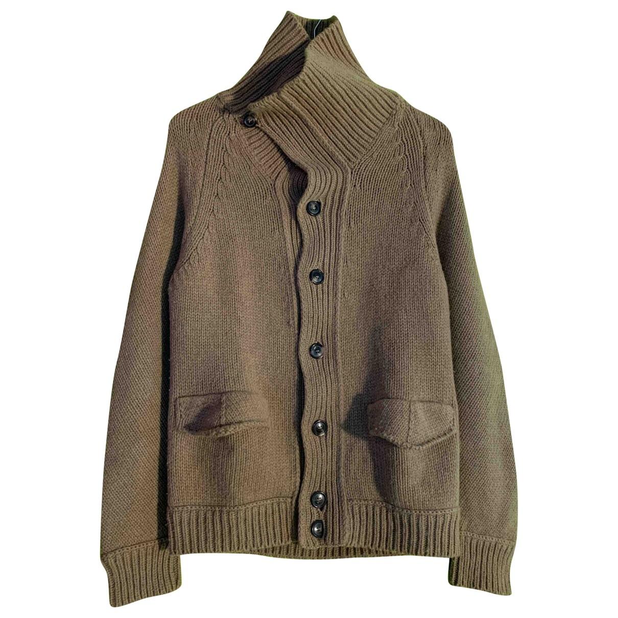 Mauro Grifoni \N Beige Wool Knitwear & Sweatshirts for Men 46 IT