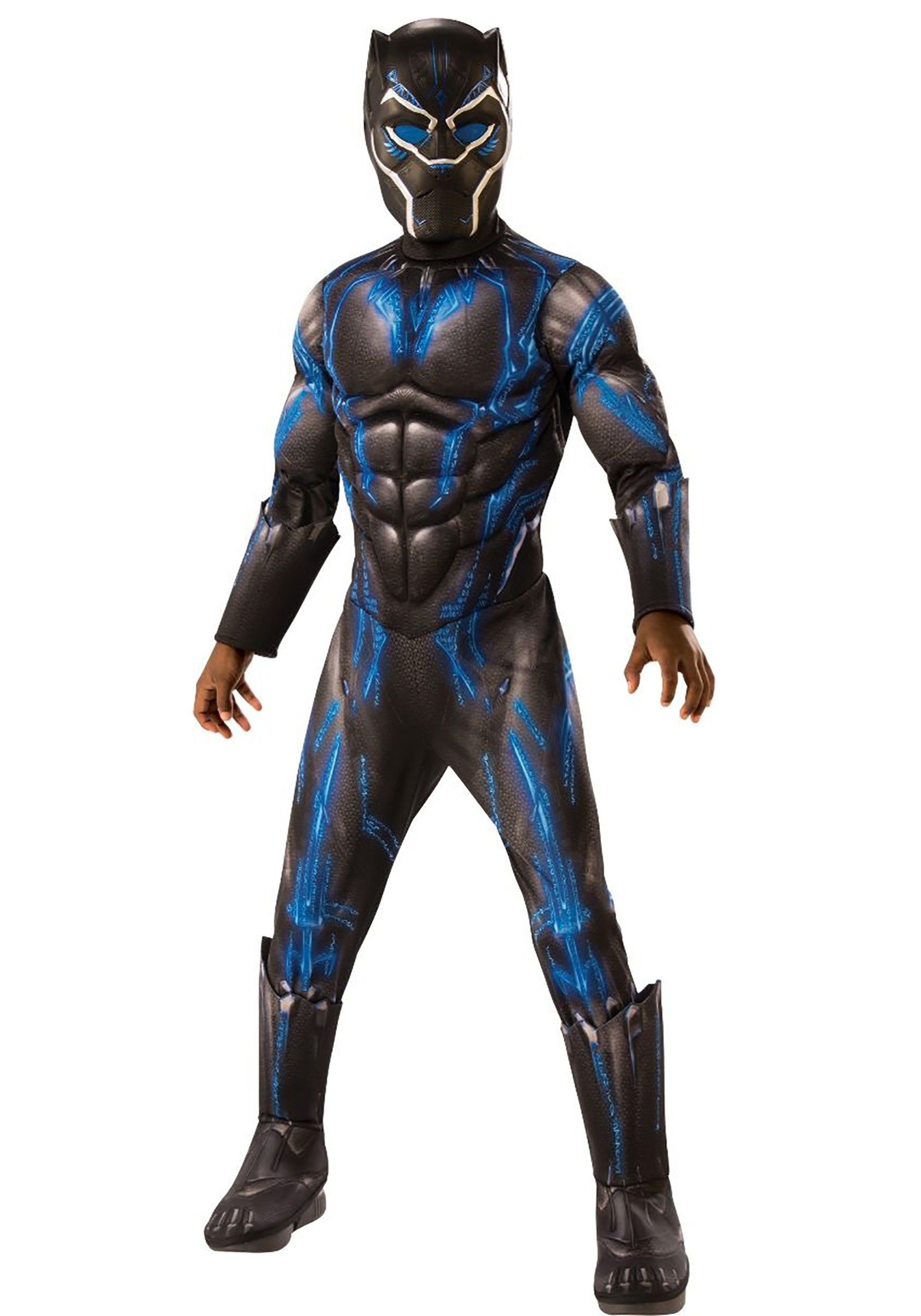 Black Panther Kid's Deluxe Battle Suit Costume