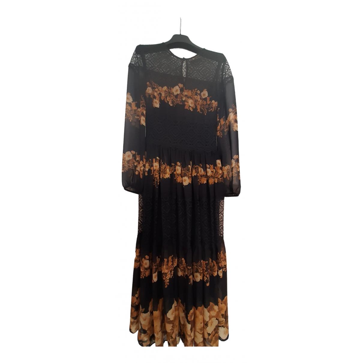 Twin Set \N Kleid in  Schwarz Polyester