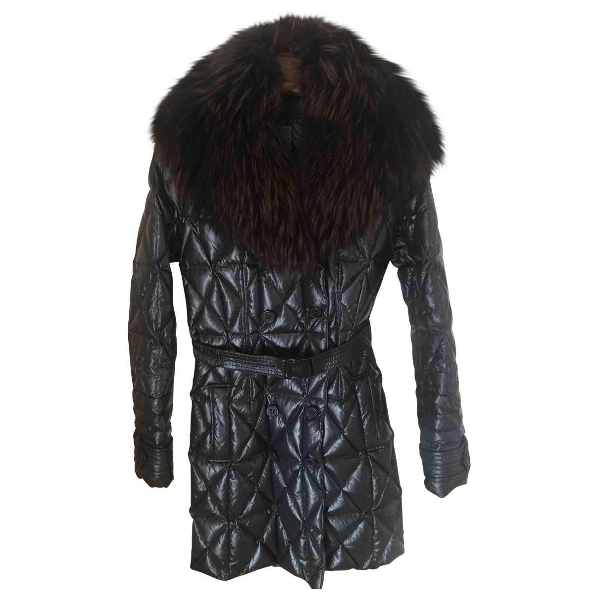 Add \N Black coat for Women 42 IT