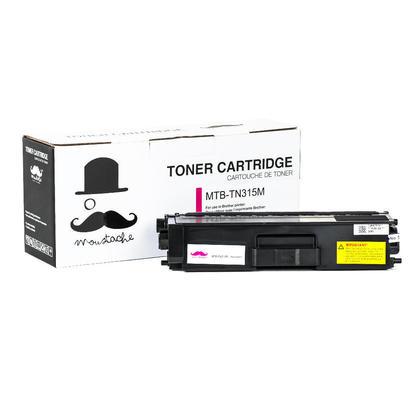 Brother TN315M cartouche de toner compatible magenta haute capacité - Moustache®