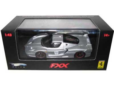 Ferrari Enzo FXX Silver 16 Elite Limited Edition 1/43 Diecast Model Car by Hotwheels