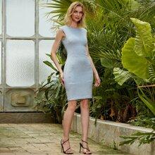 Angel-Fashions Rueckenfreies Kleid mit Twist