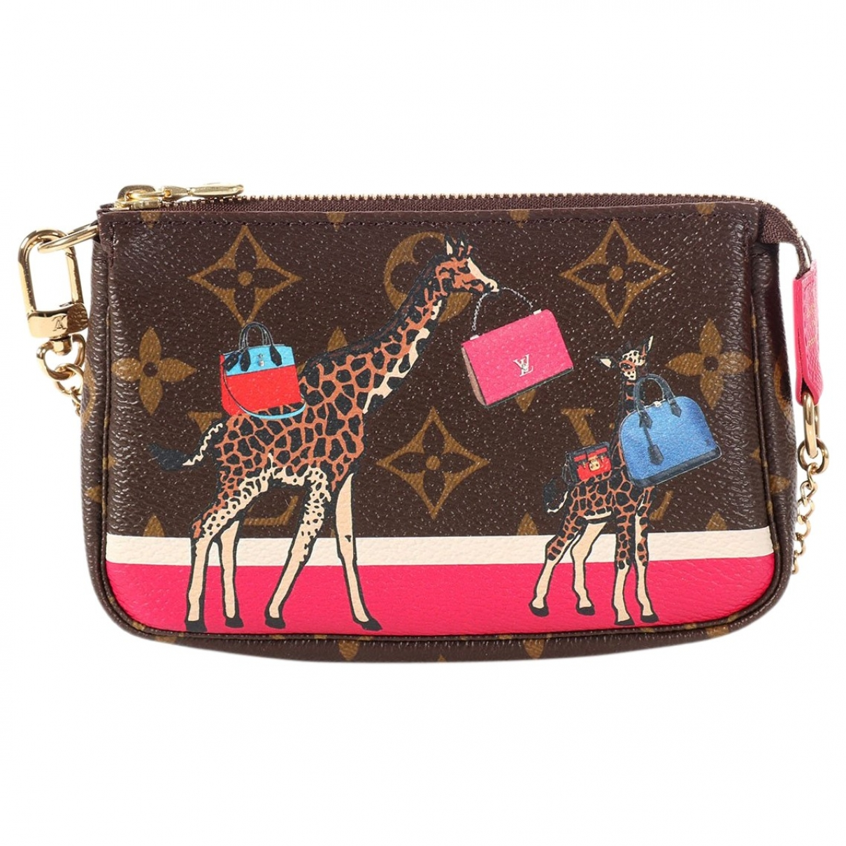 Louis Vuitton Pochette Accessoire Multicolour Cloth Clutch bag for Women \N