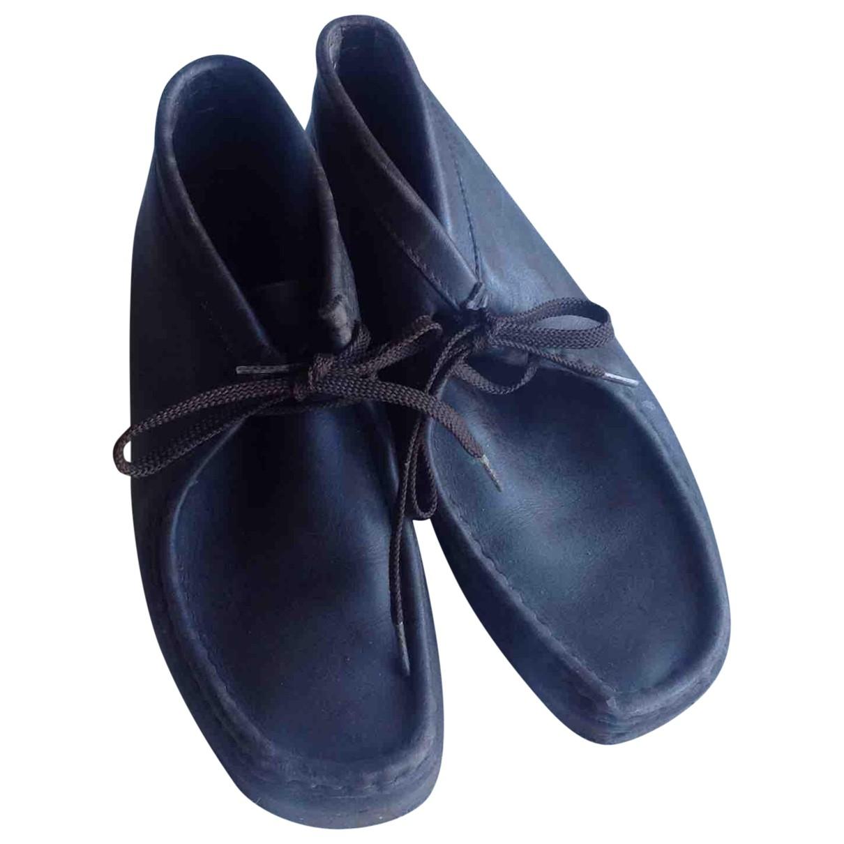 Botas de Cuero Clarks