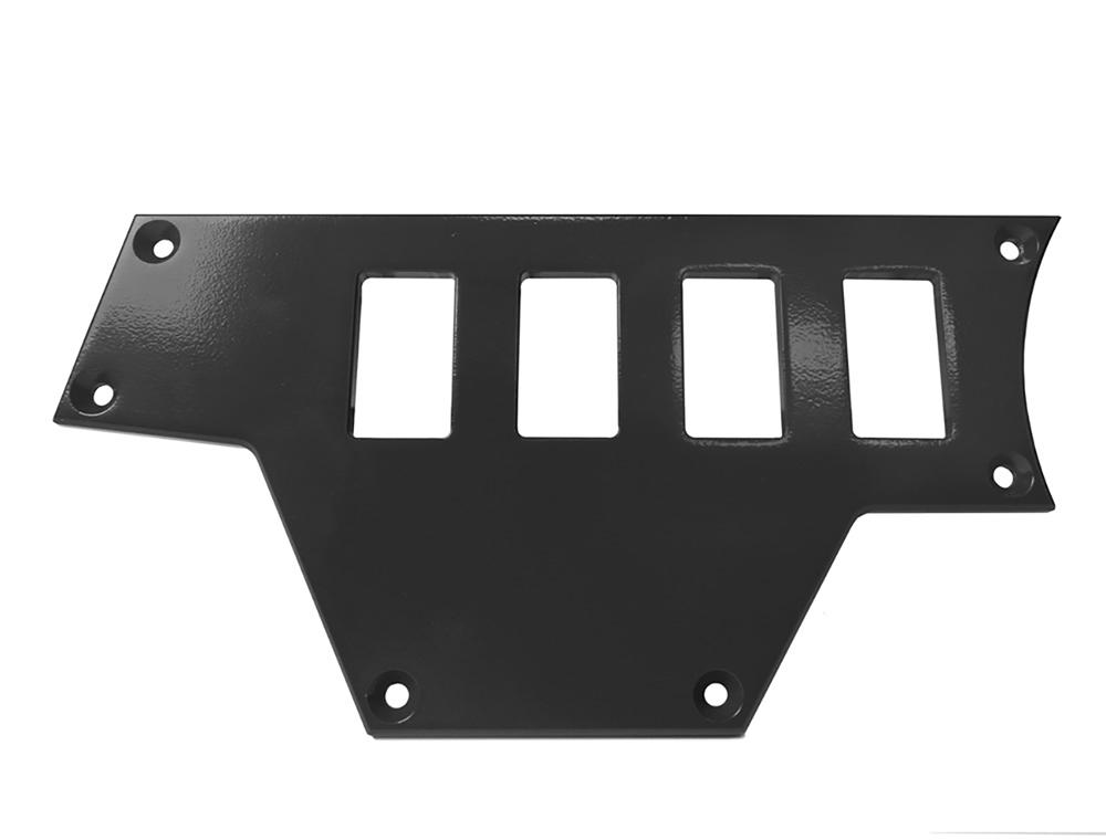 PRP Seats ODL-217112 Gloss Black Left Side 4 Switch Panel Polaris RZR XP | XP 4 1000 14-19