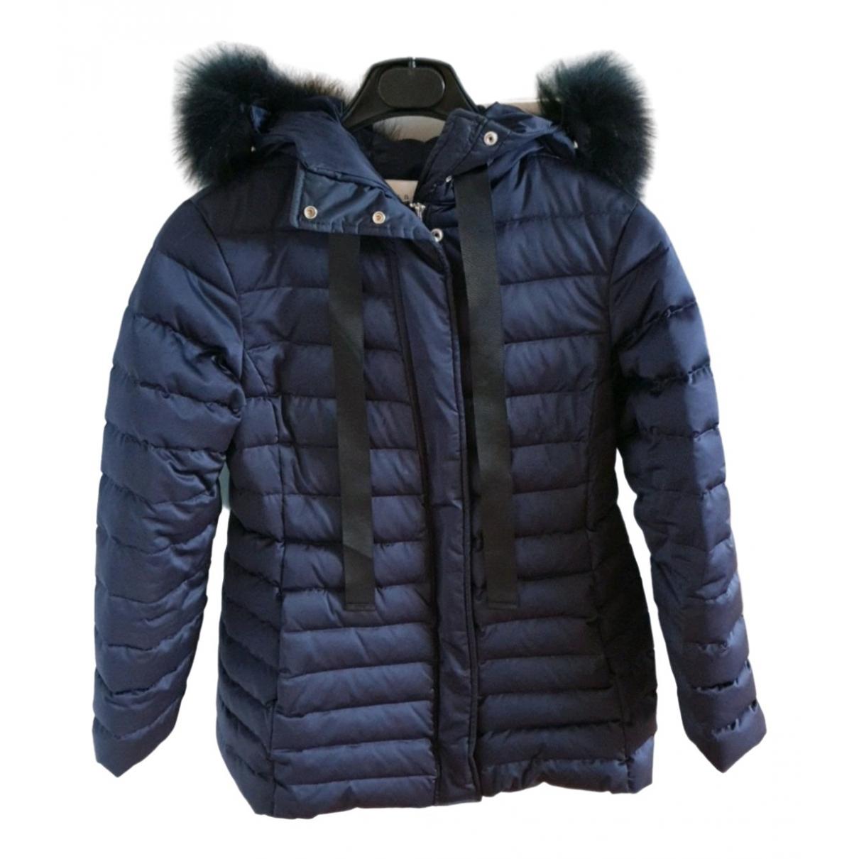 Sandro \N Blue coat for Women 36 FR