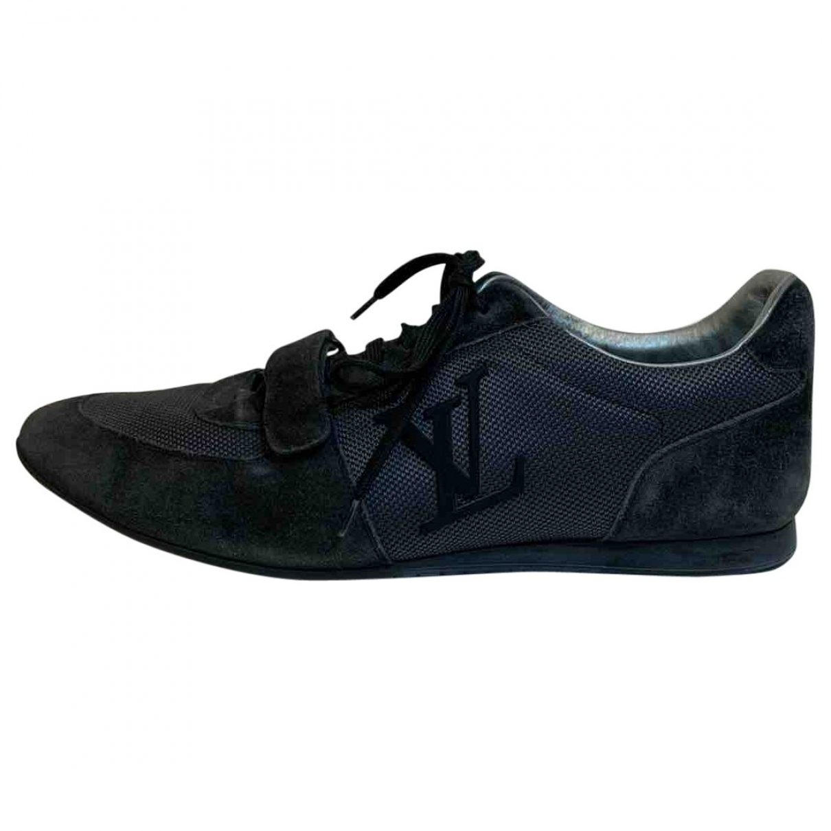 Louis Vuitton \N Anthracite Cloth Trainers for Men 9.5 UK