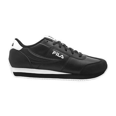 Fila Province Lifestyle Mens Sneakers, 12 Medium, Black