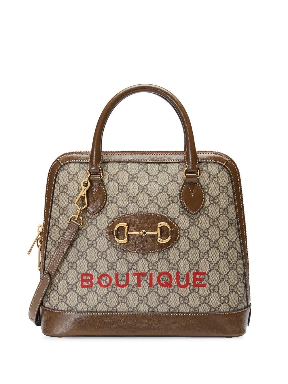 Horsebit Leather Handbag