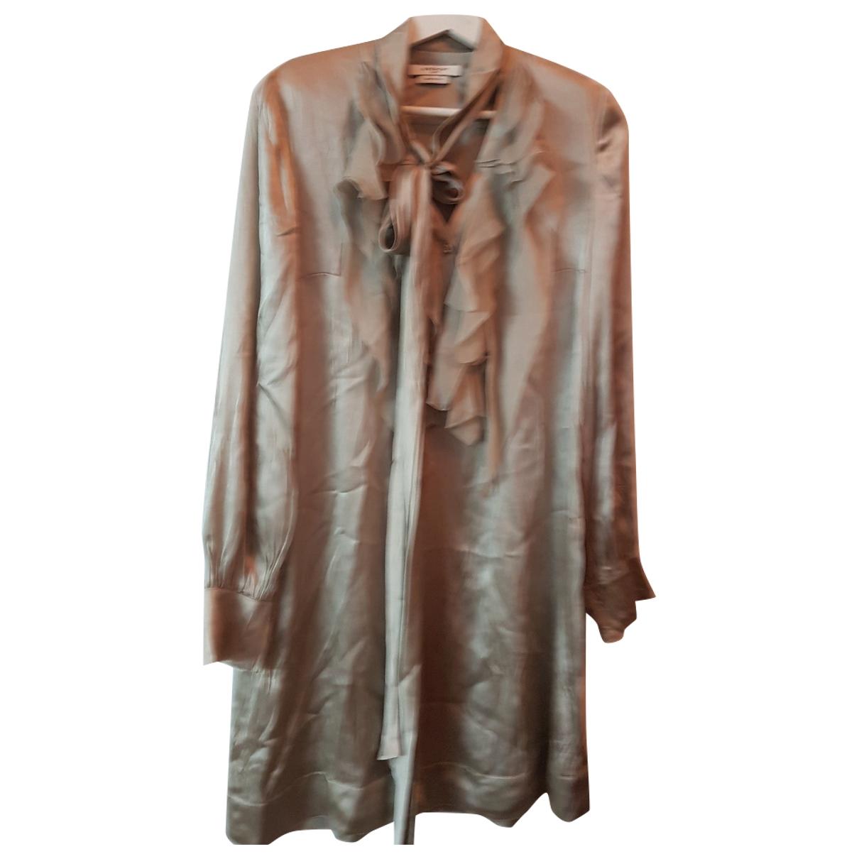 Givenchy \N Beige Silk dress for Women 44 IT