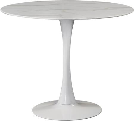 974-T Tulip White Dining Table (3