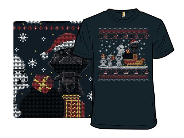 Dark Santa T Shirt