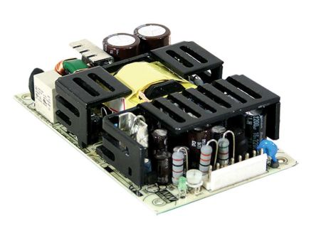 Mean Well , 72W Embedded Switch Mode Power Supply SMPS, 5 V dc, ±15 V dc, Open Frame, Medical Approved
