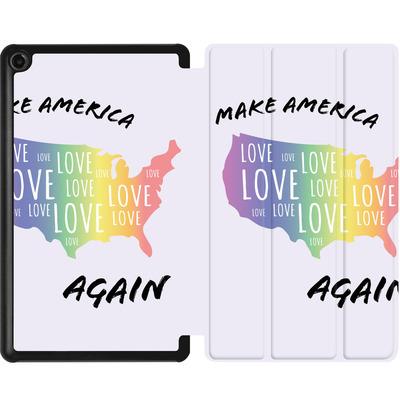 Amazon Fire 7 (2017) Tablet Smart Case - Make America Love Again von caseable Designs