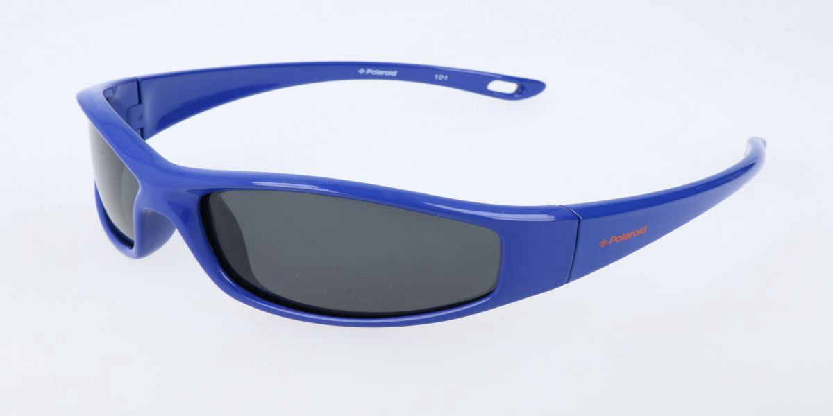 Polaroid P0224 Kids D Men's Sunglasses Blue Size Standard