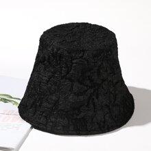 Sombrero cubo negro