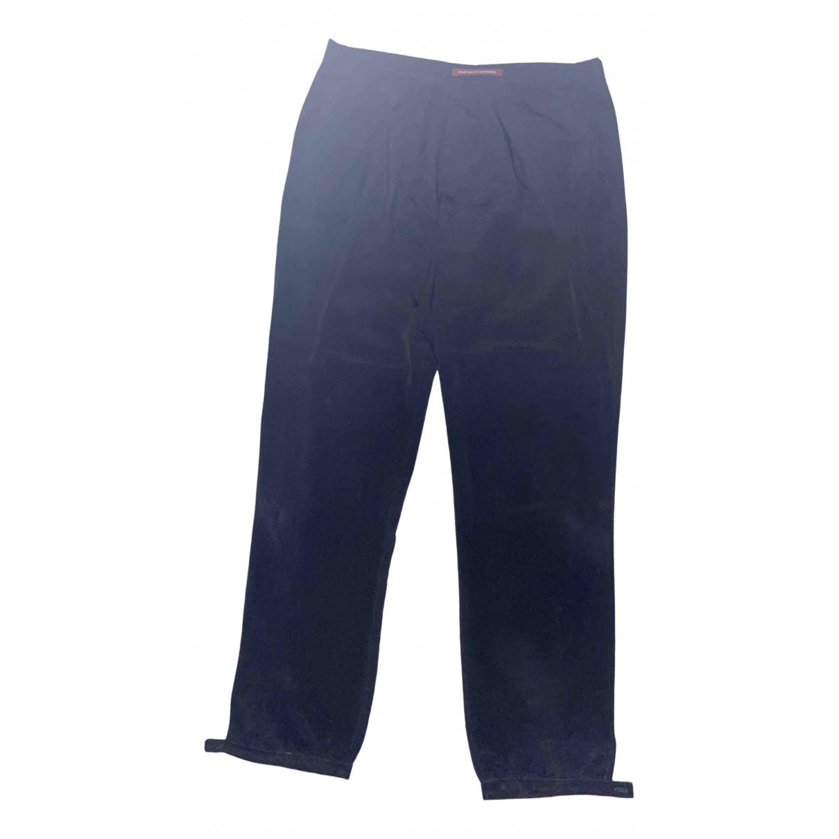 Comptoir Des Cotonniers \N Black Trousers for Women 38 FR