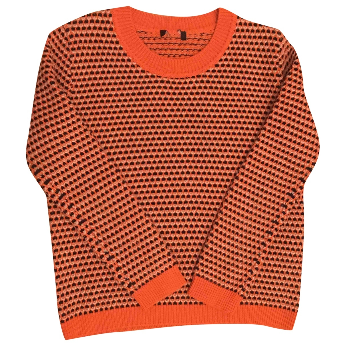 Max & Co - Pull   pour femme en laine - orange