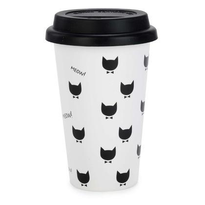 Travel Mug (BPA free) - MEOW MEOW 3.5X6