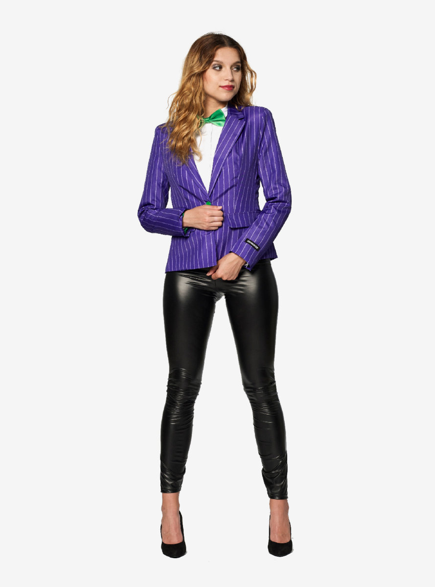 DC Comics The Joker Women's Halloween Blazer