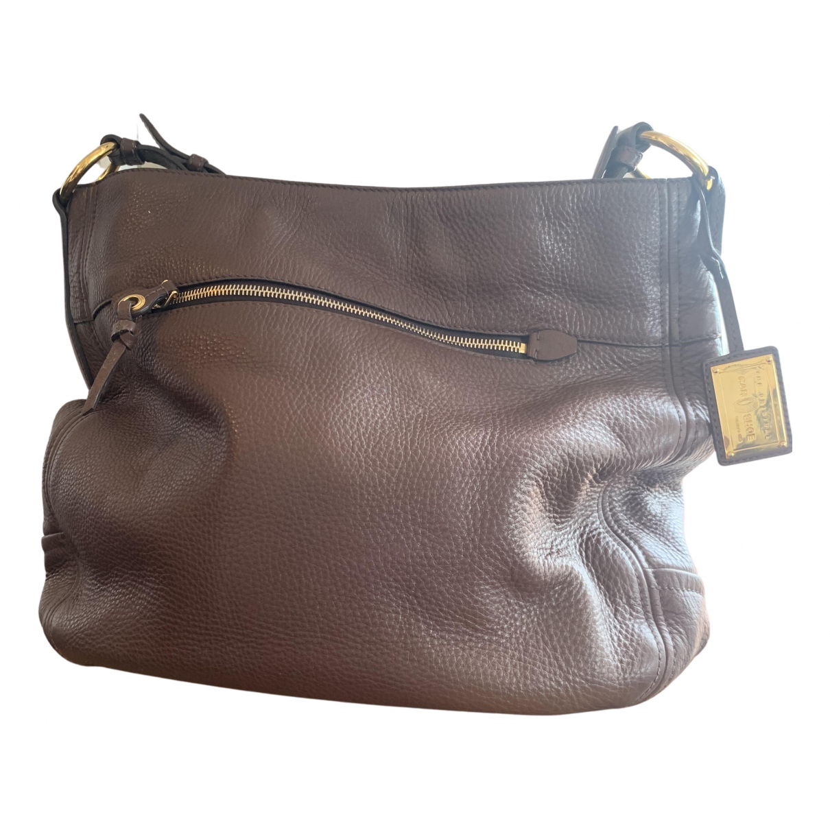Carshoe N Brown Leather handbag for Women N