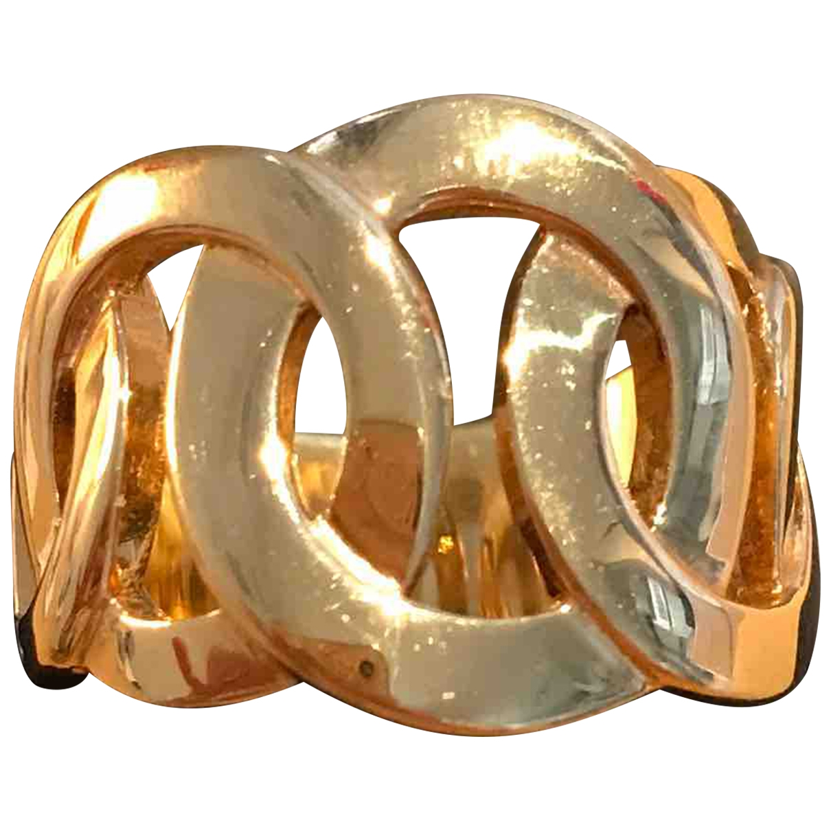 Non Signe / Unsigned \N Ring in  Gold Vergoldet