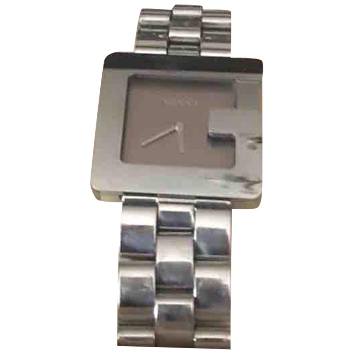 Gucci Interlocking Uhr in  Silber Stahl
