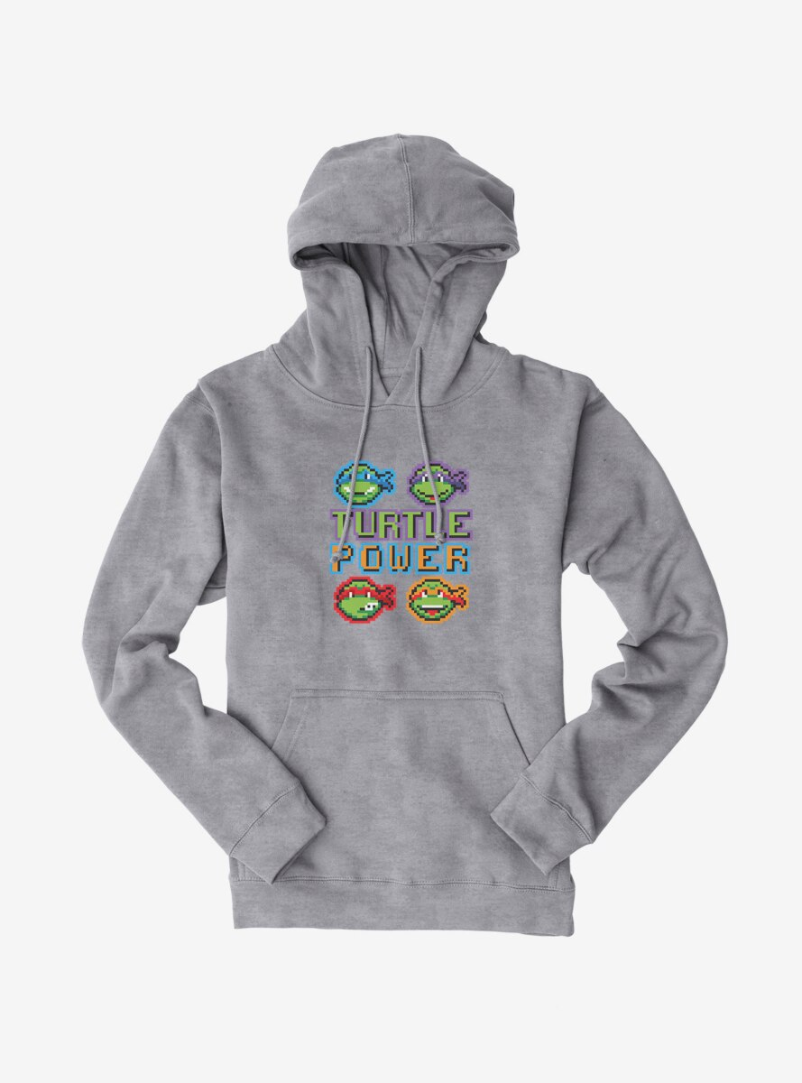 Teenage Mutant Ninja Turtles Pixelated Turtle Power Team Hoodie