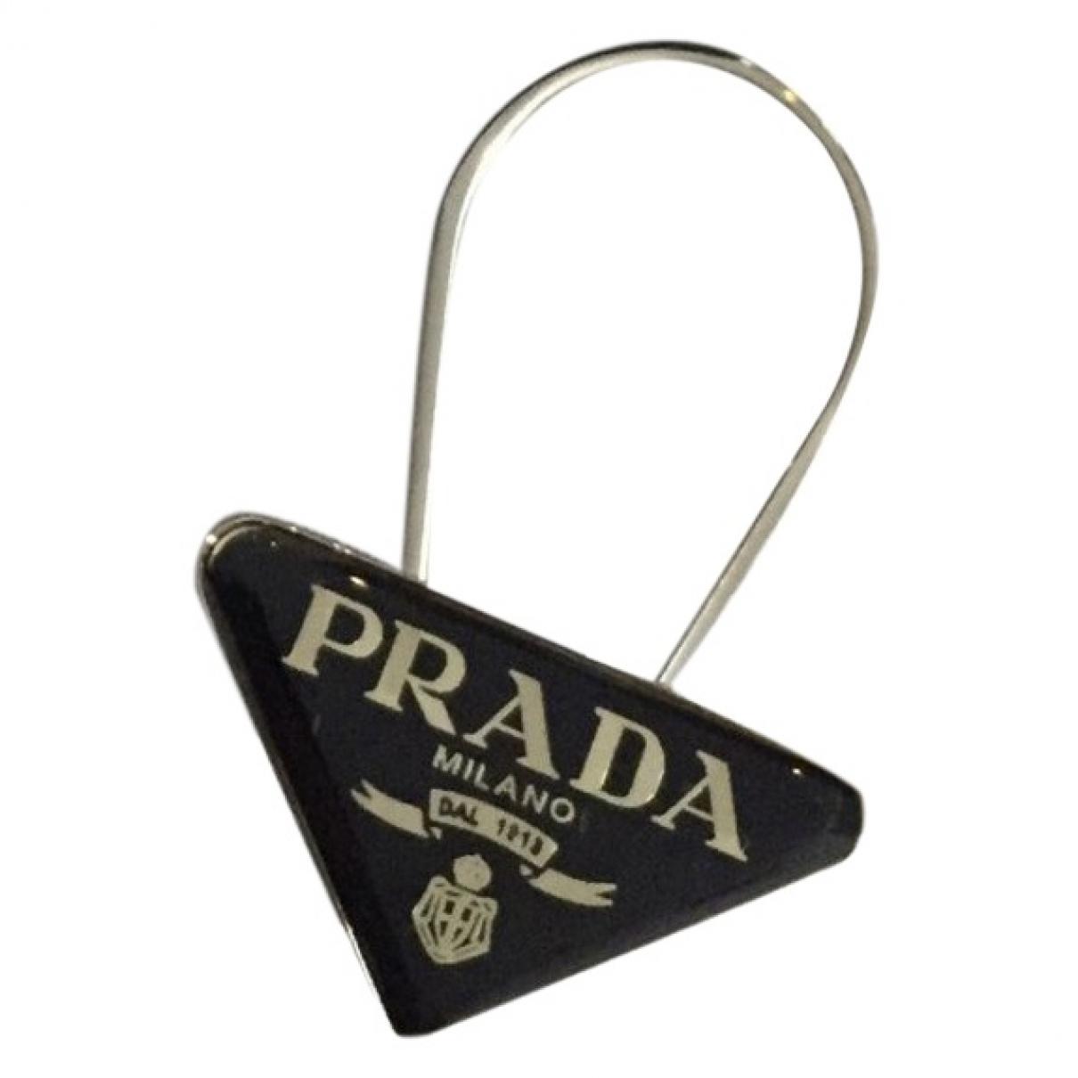 Prada - Petite maroquinerie   pour homme en metal - noir