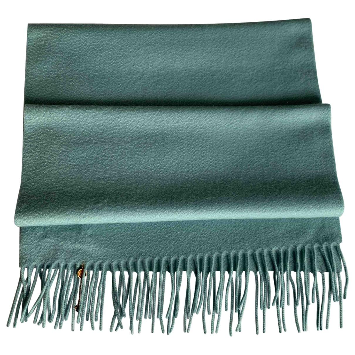 Loro Piana - Foulard   pour femme en cachemire - bleu