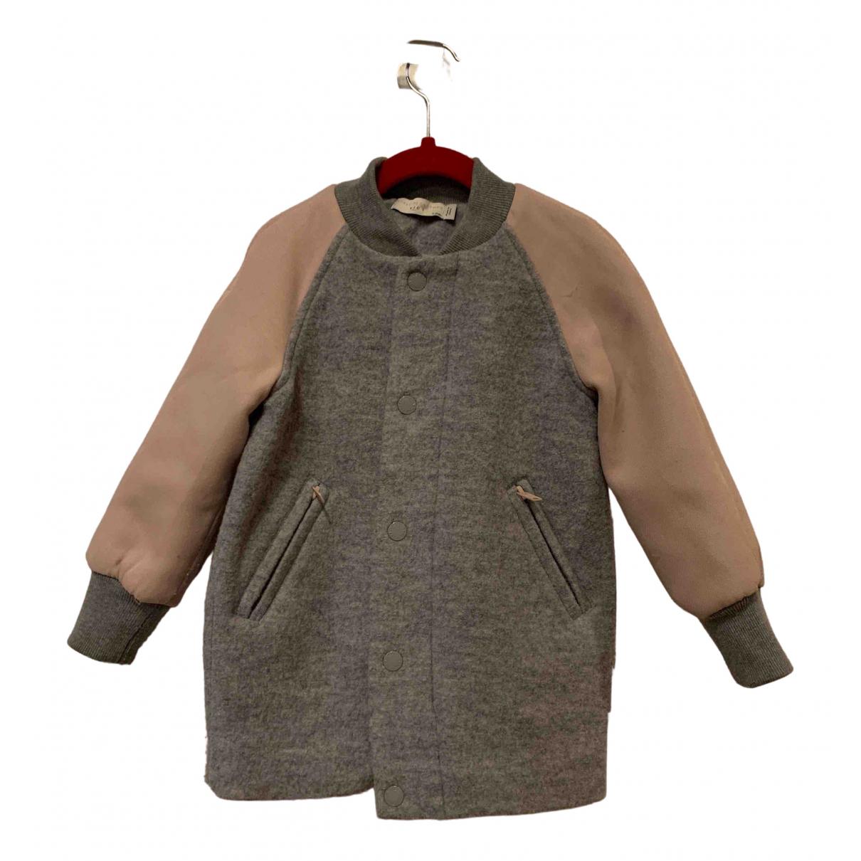 Stella Mccartney Kids N Grey Wool jacket & coat for Kids 3 years - until 39 inches UK