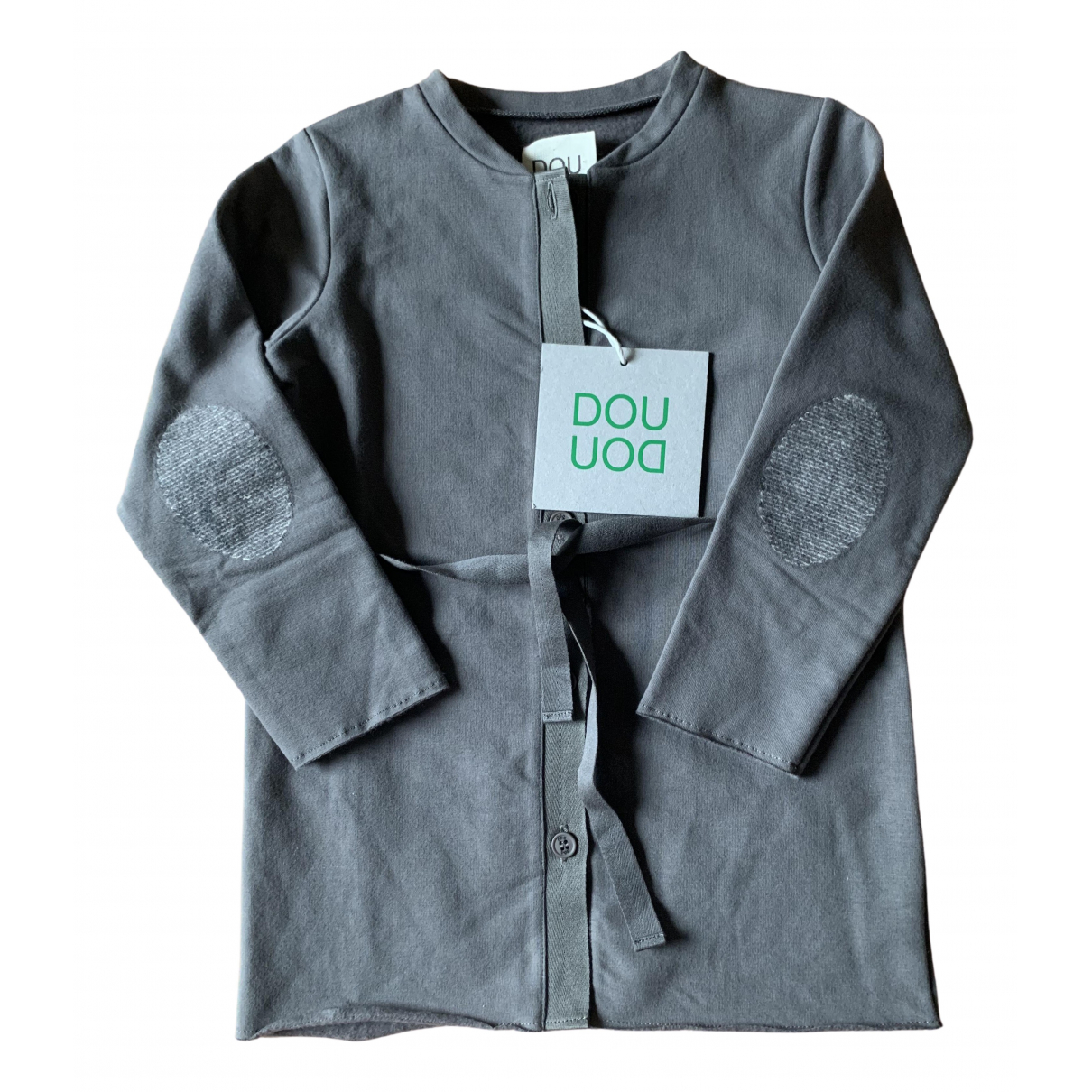 Douuod N Grey Cotton Knitwear for Kids 4 years - up to 102cm FR