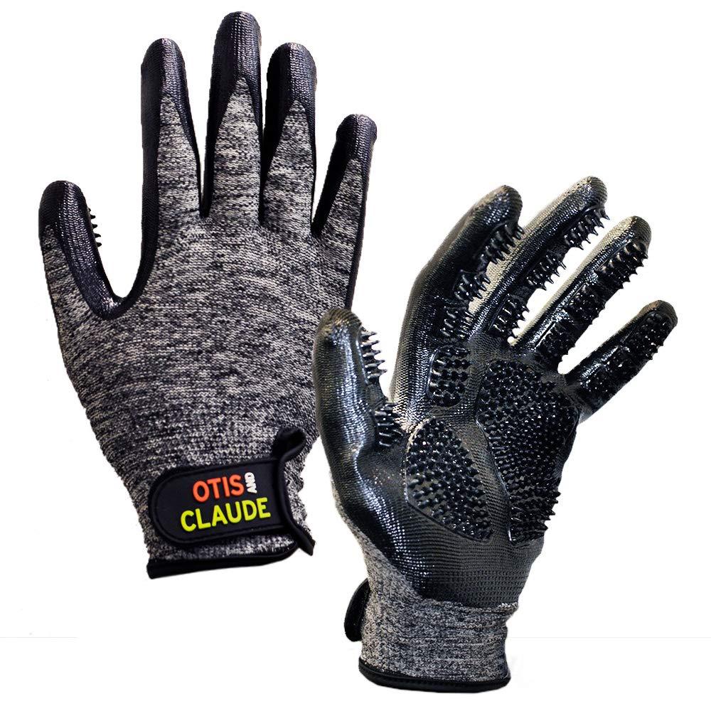 Otis & Claude Pet Grooming Gloves