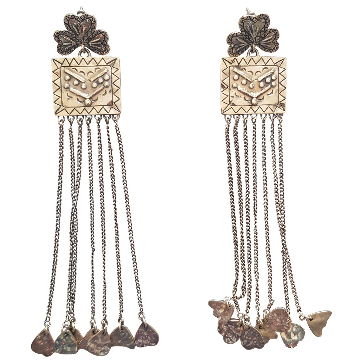 Chloé \N Gold Metal Earrings for Women \N