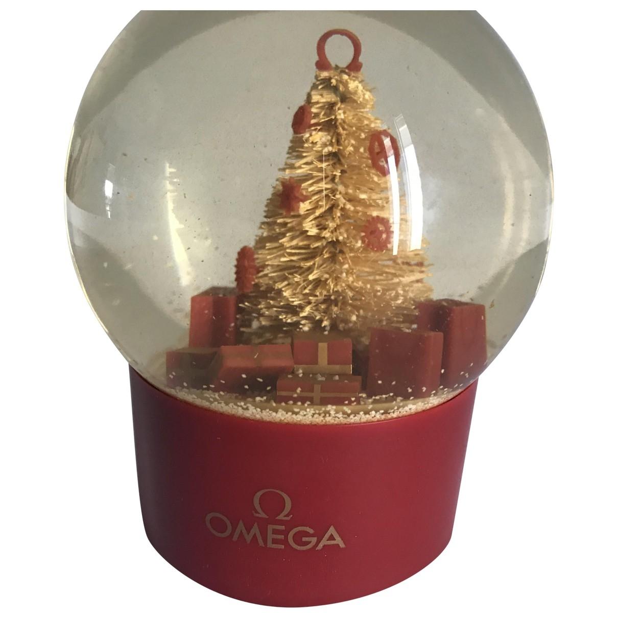Omega - Objets & Deco   pour lifestyle en verre - dore