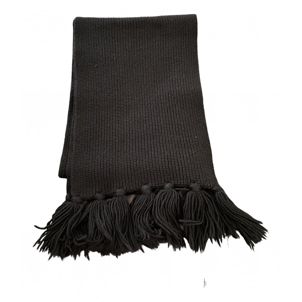 Louis Vuitton - Foulard   pour femme en laine - noir