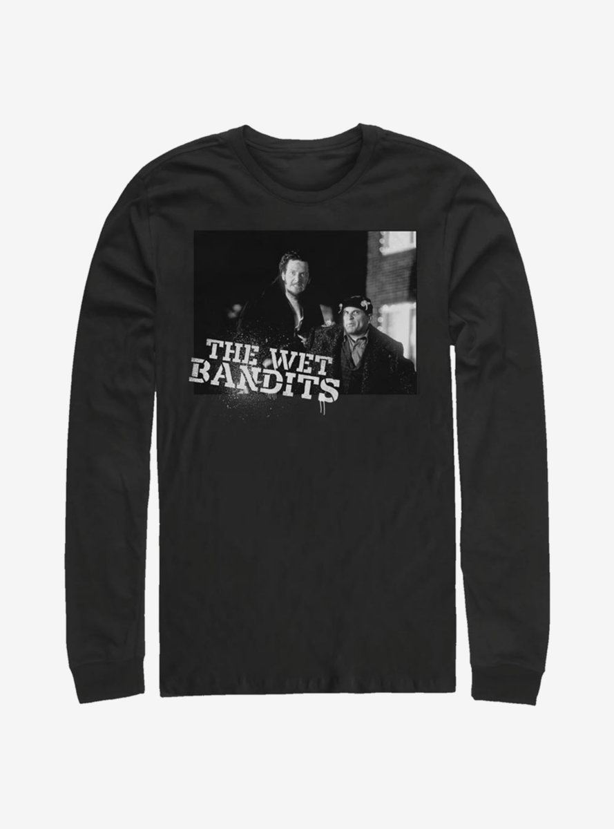 Home Alone The Wet Bandits Long-Sleeve T-Shirt