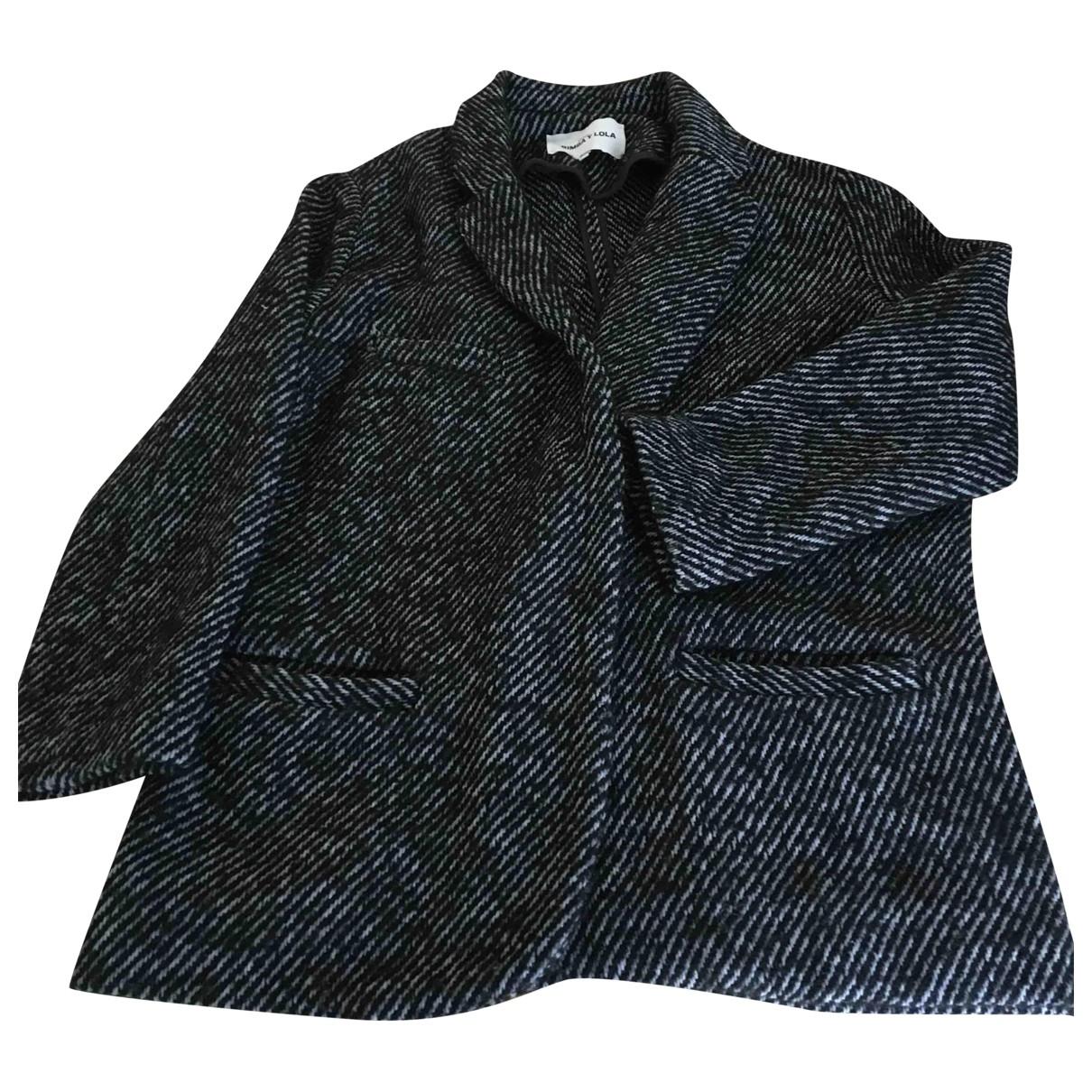 Bimba Y Lola - Veste   pour femme en laine - bleu