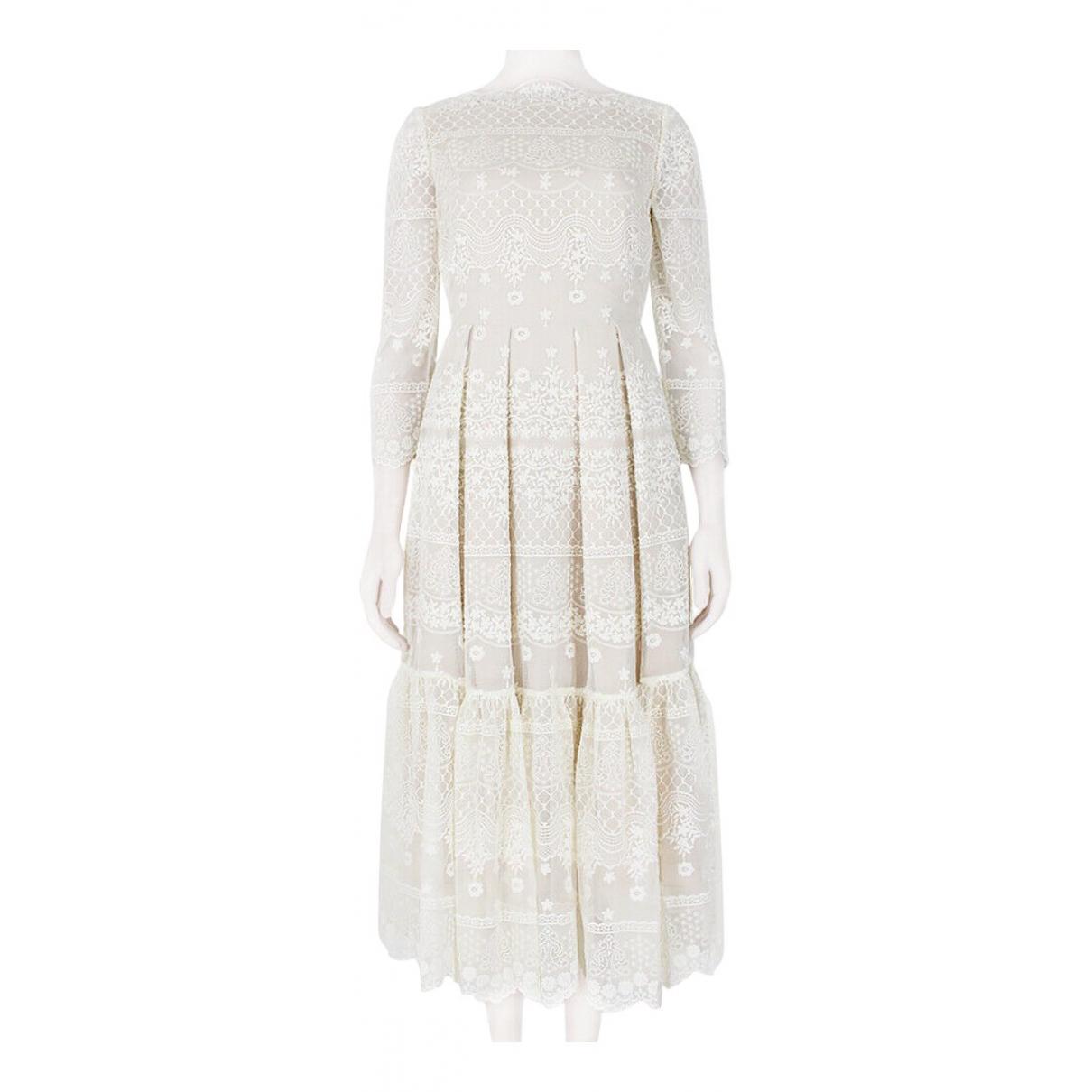 Erdem - Robe   pour femme - blanc