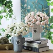 1 Strauss Kuenstliche Blume und 27 Stuecke Kopfen